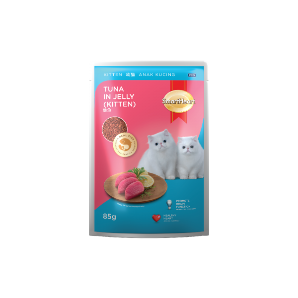 SmartHeart Pouch Tuna (Kitten)