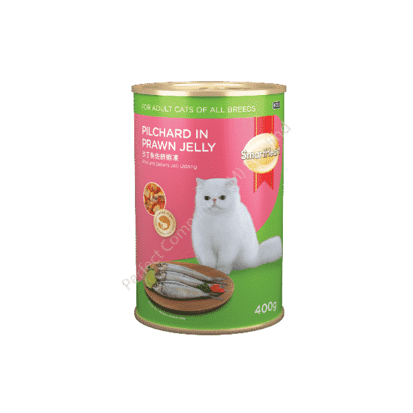 SmartHeart Cat Canned Pilchard In Prawn Jelly
