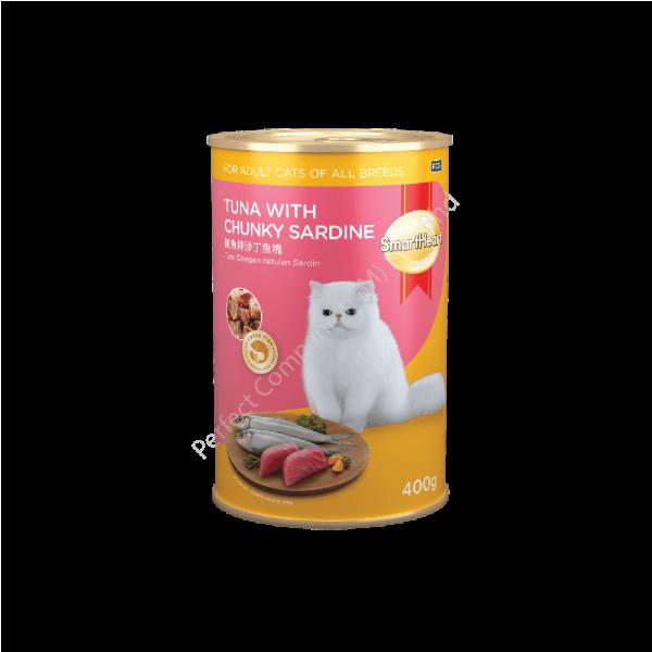 SmartHeart Cat Canned Tuna & Chunky Sardine In Jelly