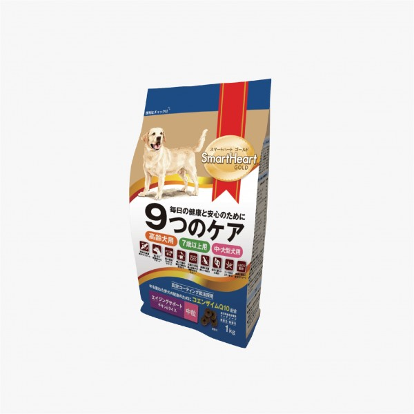 SmartHeart Gold Dog Food Maxi & Medium – Senior 7+