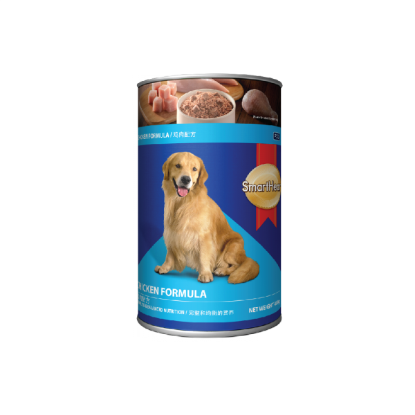 SmartHeart Dog Canned Chicken  Flavour