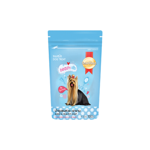 SmartHeart Dog Treat Shiny & Healthy Coat
