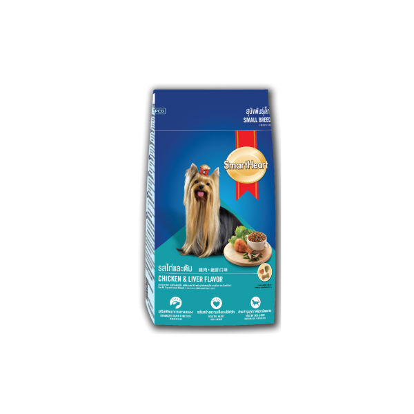 SmartHeart Dog Dry Food Chicken & Liver (Small Breed)
