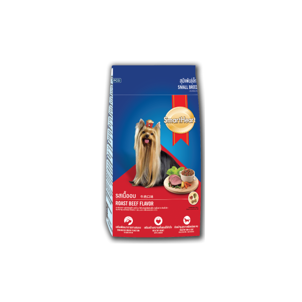 SmartHeart Dog Dry Food Roast Beef (Small Breed)