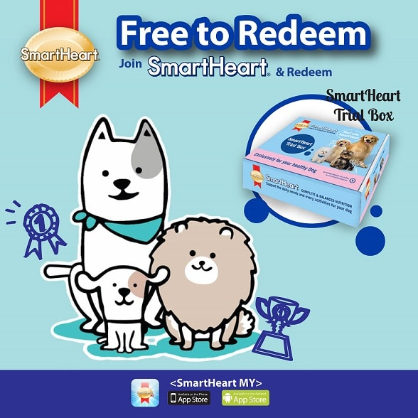 SmartHeart Dog Trial Box Redemption Program (20 – 31 July 2018)