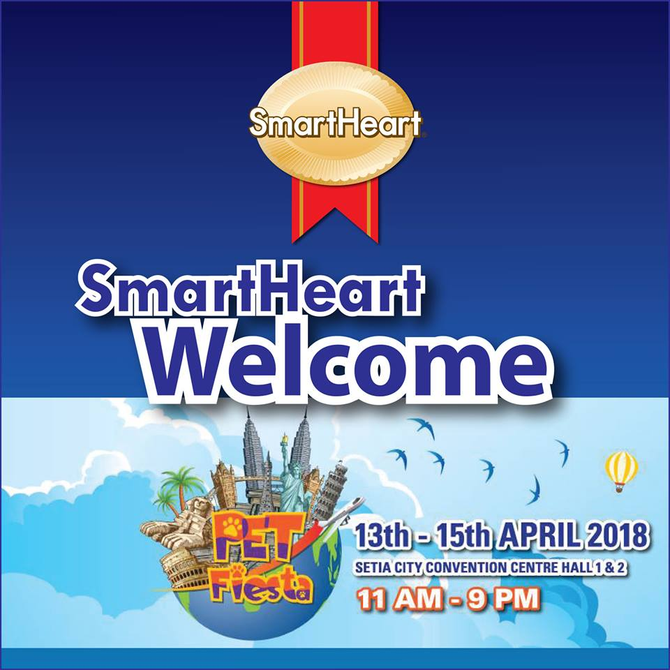 SmartHeart at Pet Fiesta 2018 (13-15 April 2018)
