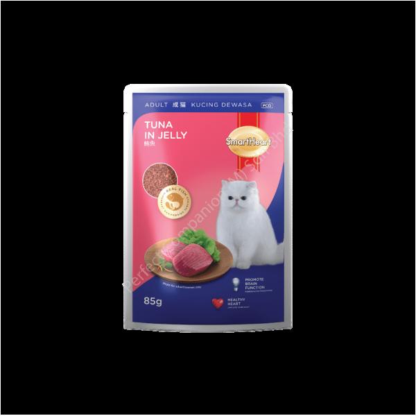 SmartHeart Cat Pouch Tuna In Jelly