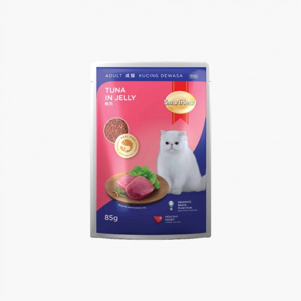 SmartHeart Cat Pouch Tuna In Jelly
