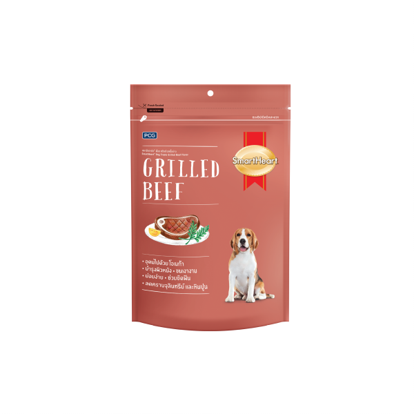 SmartHeart Dog Treat Grilled Beef