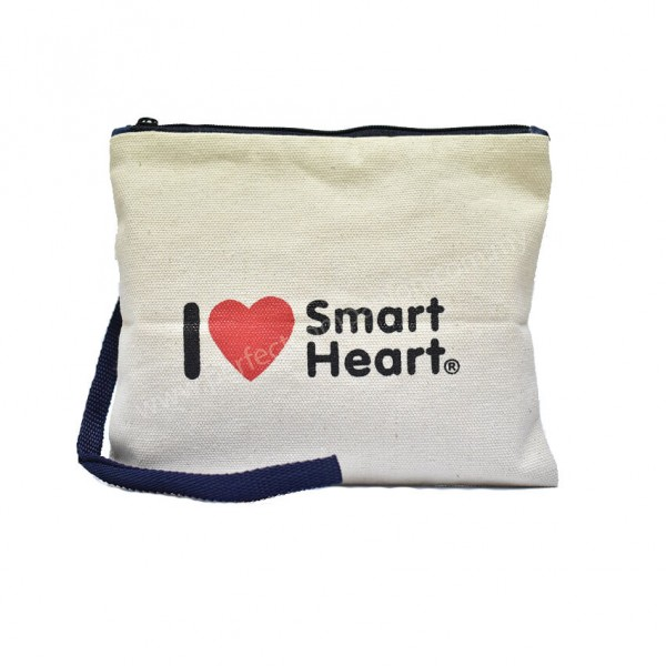 I Love SH Canvas Pencil Case