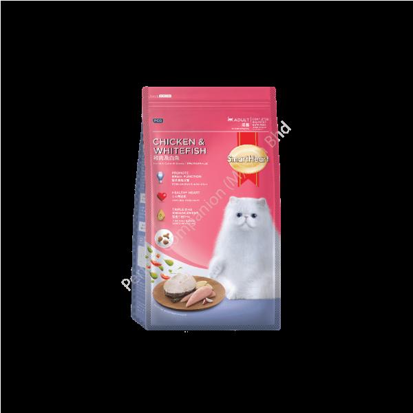 SmartHeart Cat Dry Food Chicken & Whitefish