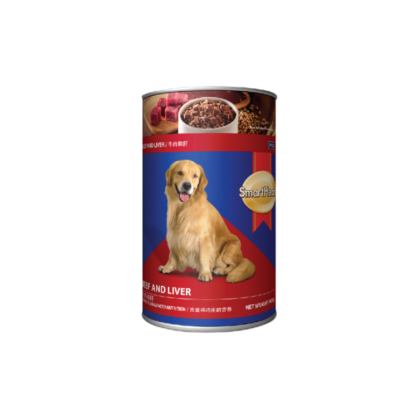 SmartHeart Dog Canned Beef & Liver Flavour