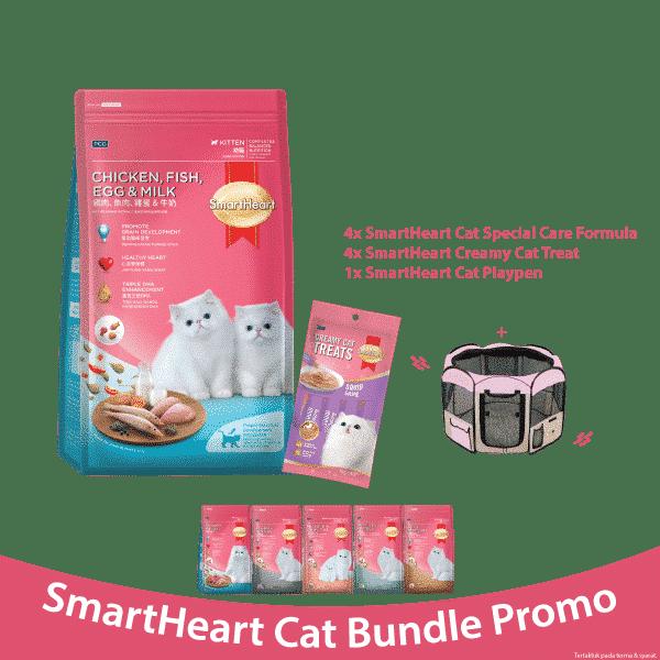 SmartHeart Cat Bundle Promo