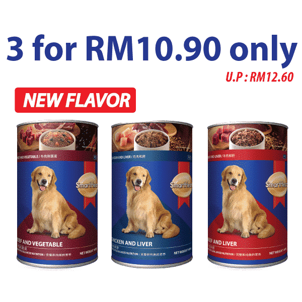 3 Cans For RM10.90