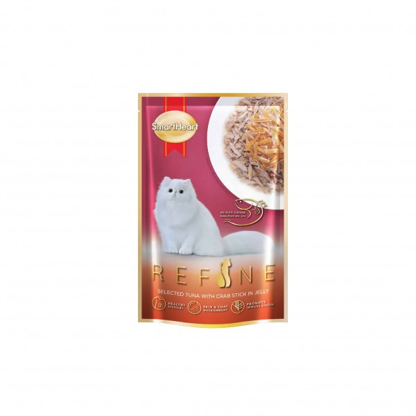 Refine – Selected Tuna with Crab Stick in Jelly