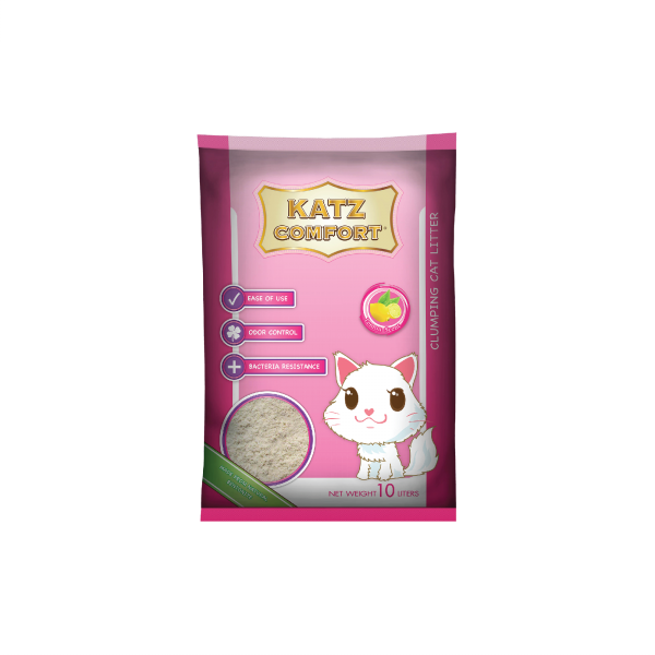 Katz Comfort Cat Litter – Lemon