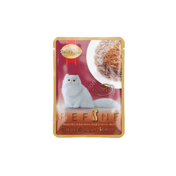 REFINE Pouch – Selected Tuna with Crab Stick in Jelly