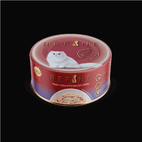 Refine Canned – Finest Tuna with Chicken Strips