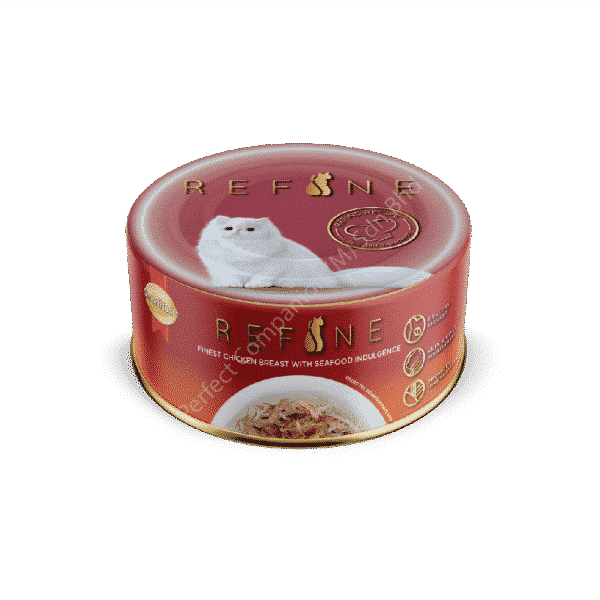 REFINE Canned – Finest Chicken Breast with Seafood Indulgence