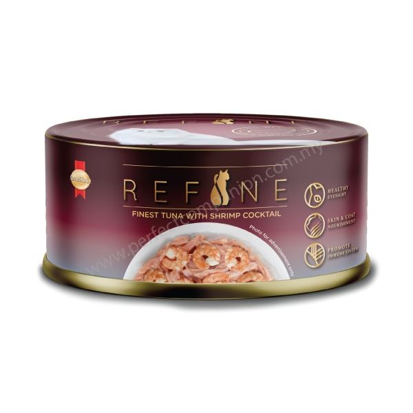 REFINE Canned- Finest Tuna with Shrimp Cocktail