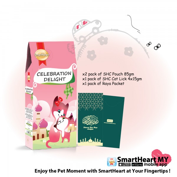 SmartHeart Cat Celebration Delight Pack